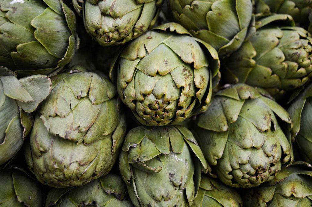 Presque 10% de fibres alimentaires dans les artichauts cuits
